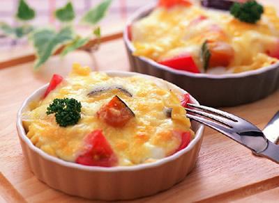 野菜たっぷりシュガートマトグラタン